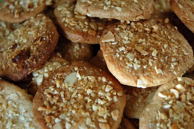 Snack saludable: Galletas de nueces