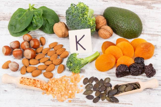 Los beneficios de la vitamina K