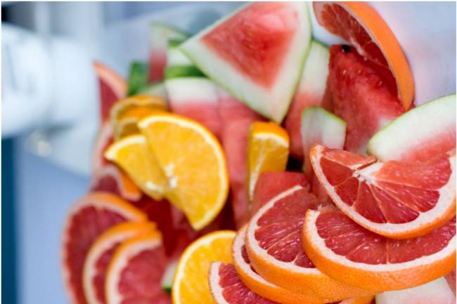 Las mejores frutas para el verano