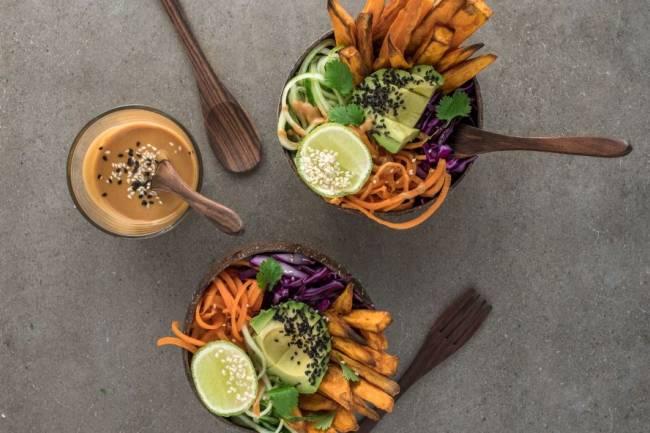 Los alimentos veganos más energizantes