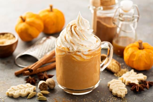 Bebida de Otoño: Pumpkin Spice Latte